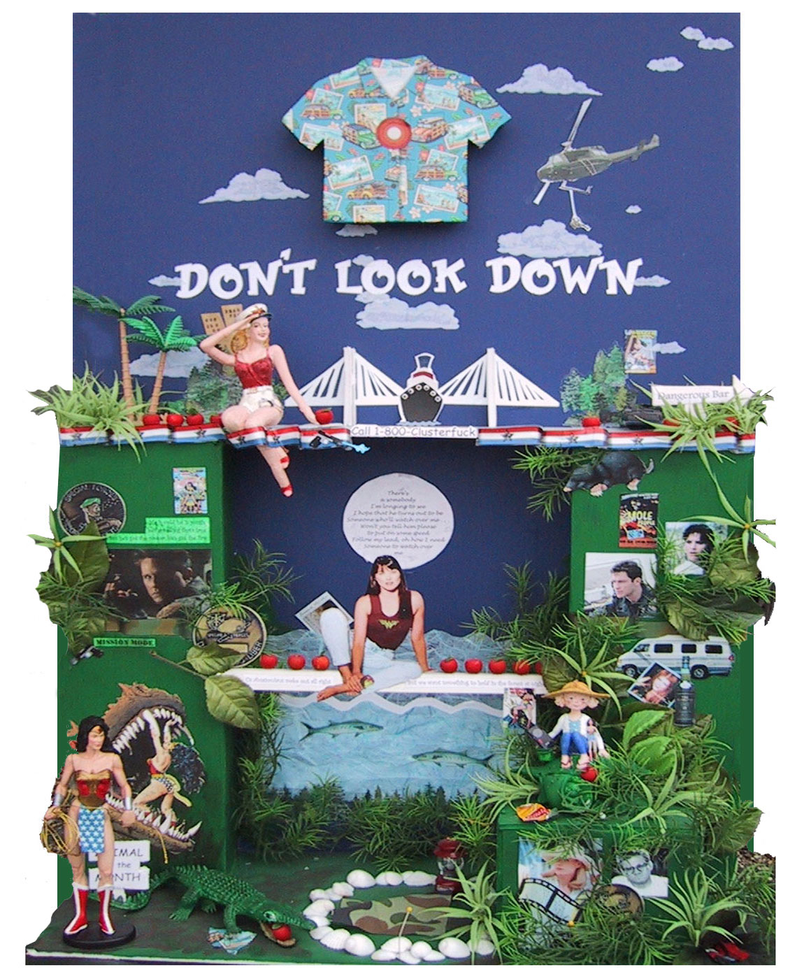 Don't Look Down Collage